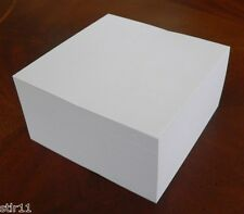 "Note Paper Refill Cube - Loose Sheets - ""Great for your Paper Holder"" 4"" x 4"""