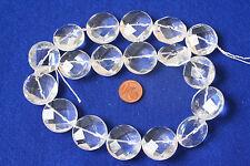 bergkristall-strang ( Chip, fac.22x11mm) j-0738/J