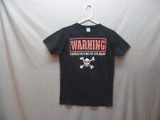 Men's Warning Wrestling Me Is Bad For Your Health T-shirt Small (h012)
