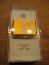 Apple iPod Shuffle 2nd Generation Orange (1GB) Brand New Factory Sealed *RARE*