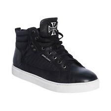WEST COAST CHOPPERS SUPPRESSOR LEATHER SNEAKER SHOES IN BLACK **IN STOCK**