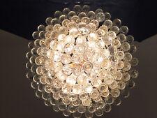 Lüster Gold mit Bleikristall (Kronleuchter, Korblüster, Leuchter, Prunklüster)
