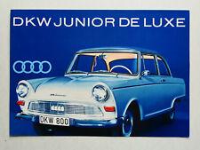 Prospekt Auto Union DKW Junior de Luxe, ca.1961, 6 Seiten, folder
