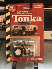 Maisto Tonka Farm Tractor Diecast Model 1/64 Scale 31 Of 50 New