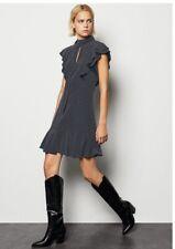 Karen Millen Black & White Spot Dress Size UK 16