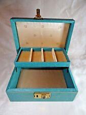 Vintage Girl Scouts Jewelry Box (no key)
