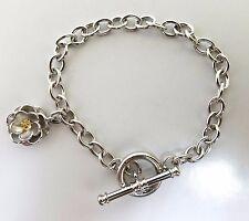Toggle Bracelet 14Kt Fancy Yellow Diamond 14kt 7.5 inch