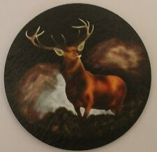 Scotland Red Stag - Coaster - Welsh Slate