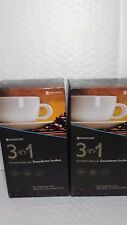 2 GANOCAFE 3 IN 1 ENRICHED COFFEE WITH GANODERMA LUCIDUM 40 SACHETS EXP.07/19