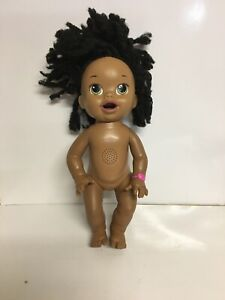 BABY ALIVE Potty Doll with Black Curly Hair African American Not Working