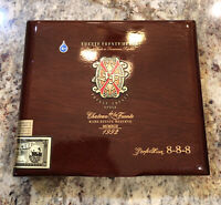 Fuente Fuente Opus X Rare Estate Reserve Perfection 888 Empty Cigar Box Humidor