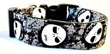 Nightmare before Christmas Jack Halloween Custom Handmade Dog Collar