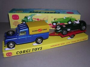 CORGI GS 17 BRM RACING SET & BOX - PROPOSED BUT NEVER RELEASED - SUPERB!