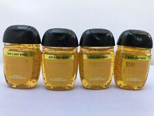 4 pcs Bath and & Body Works PocketBac Hand Gel SUNSHINE & LEMONS 1 Fl Oz