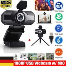 HD Webcam 1080P Kamera USB 3.0 2.0 Mit Mikrofon für Computer PC Laptop Notebook