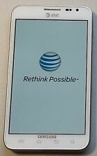 Samsung Galaxy Note SGH-I717- AT&T - WHITE - VERY GOOD Cond., BAD SIM & SD Slots