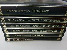 Book - The New Webster's Office Desk Reference Library 1993 HC Set Of 6 Books