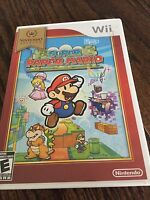 Super Paper Mario Nintendo Wii Game Cib Complete Works NG6