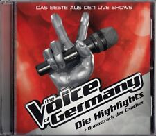 DIE HIGHLIGHTS - DAS BESTE AUS DEN LIVE SHOWS - THE VOICE OF GERMANY / CD - NEU