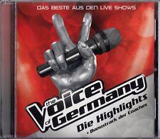 I punti salienti-il meglio dai live shows-The Voice of Germany/CD-NUOVO