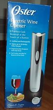 Oster Electric Wine Opener 4207 Effectless Cork Removal at The Touch of a Button