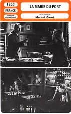 FICHE CINEMA : MARIE DU PORT - Gabin,Brunoy,Courcel,Carné 1950