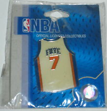 COLLECTIBLE NBA CHANNING FRYE NEW YORK KNICKS #7 JERSEY PIN - NOS/MIP