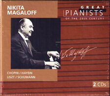 Nikita MAGALOFF: GREAT PIANISTS OF THE 20TH CENTURY 2CD Chopin Haydn Schumann