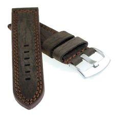 Leder Uhrarmband braun - wasserfest - Modell Canyon - 22 mm - Uhrband