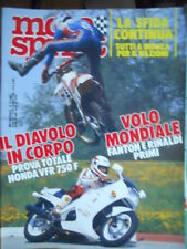 Motosprint 20 1986 Test Honda VFR 750 F - Fanton e Rinaldi primi CROSS