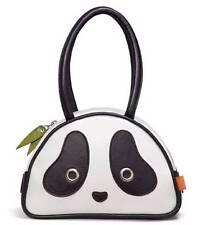 Panda SMALL handbag MORN CREATIONS PANDARAMA kung fu tote purse bag cat pouch