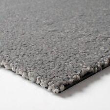 Teppichfliesen selbstliegend   Schatex Simply Soft   flauschig & weich   grau !!
