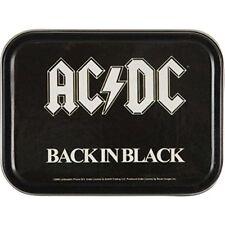 COOL AC/DC BACK IN BLACK LARGE STASH TIN