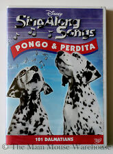 Disney Karaoke Sing Along DVD Song of the South 101 Dalmatians Other Dog Songs