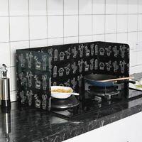 Aluminum Kitchen Cooking Foil Frying Pan Oil Splash Anti Splatter Guard Shield