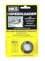 HKS M3A Speedloader For .38/.357 6 Round Fits Colt Mark 3/5 Revolvers Black