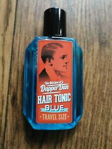 Dapper Dan Hair Tonic Blue Travel Size 100ml                      100ml=7,95E