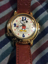 Disney LORUS MICKEY MOUSE HAPPY BIRTHDAY TO YOU Musical Watch DEAD BATTERIES