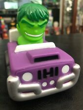 2012 POLYFECT TOYS MARVEL INCREDIBLE HULK CAR Preschool Soft Vehicles Kids Racer