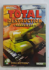 PC CD-ROM GAME TOTAL DESTRUCTION TANKS A LOT