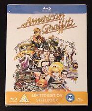 AMERICAN GRAFFITI Blu-Ray SteelBook Zavvi UK Exclusive Ltd Region Free. New Rare