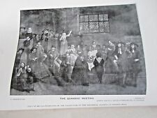 1895 Benjamin Furly, English Merchant at Rotterdam German Emigration to America