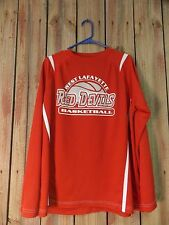 West Lafayette Red Devils Basketball Shirt Men's Crimson Red Size L
