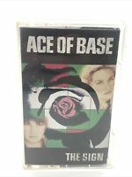 Ace of Base The Sign Cassette Oct 1993 Arista  All That She Wants RARE HTF