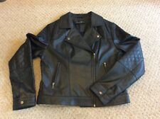Ladies Leather Jacket Size 14