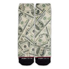 Function - Money Stacks Fashion Socks printed crew socks funny print socks money