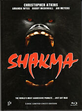 Shakma , Blu-Ray + DVD , 2 Discs , strong limited Mediabook , 100% uncut , new