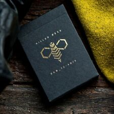 Ellusionist Killer Bee Playing Cards Poker Magic Collectable Killer Bees Deck