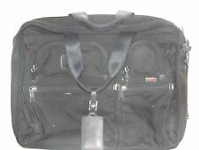 TUMI 26160DHc Black Nylon Expandable Organizer Computer Brief Messenger Bag