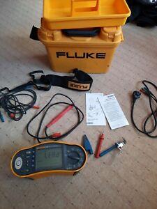 FLUKE 1654B Multifunktion Installation Tester Prüfgerät Installationsprüfgerät